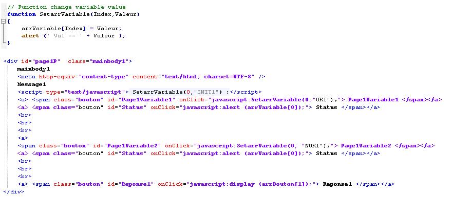 Javascript Appel De Fonction Sur Onclick Javascript Human Coders